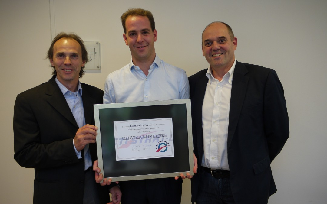 DomoSafety get highest innovation awards from Swiss Government